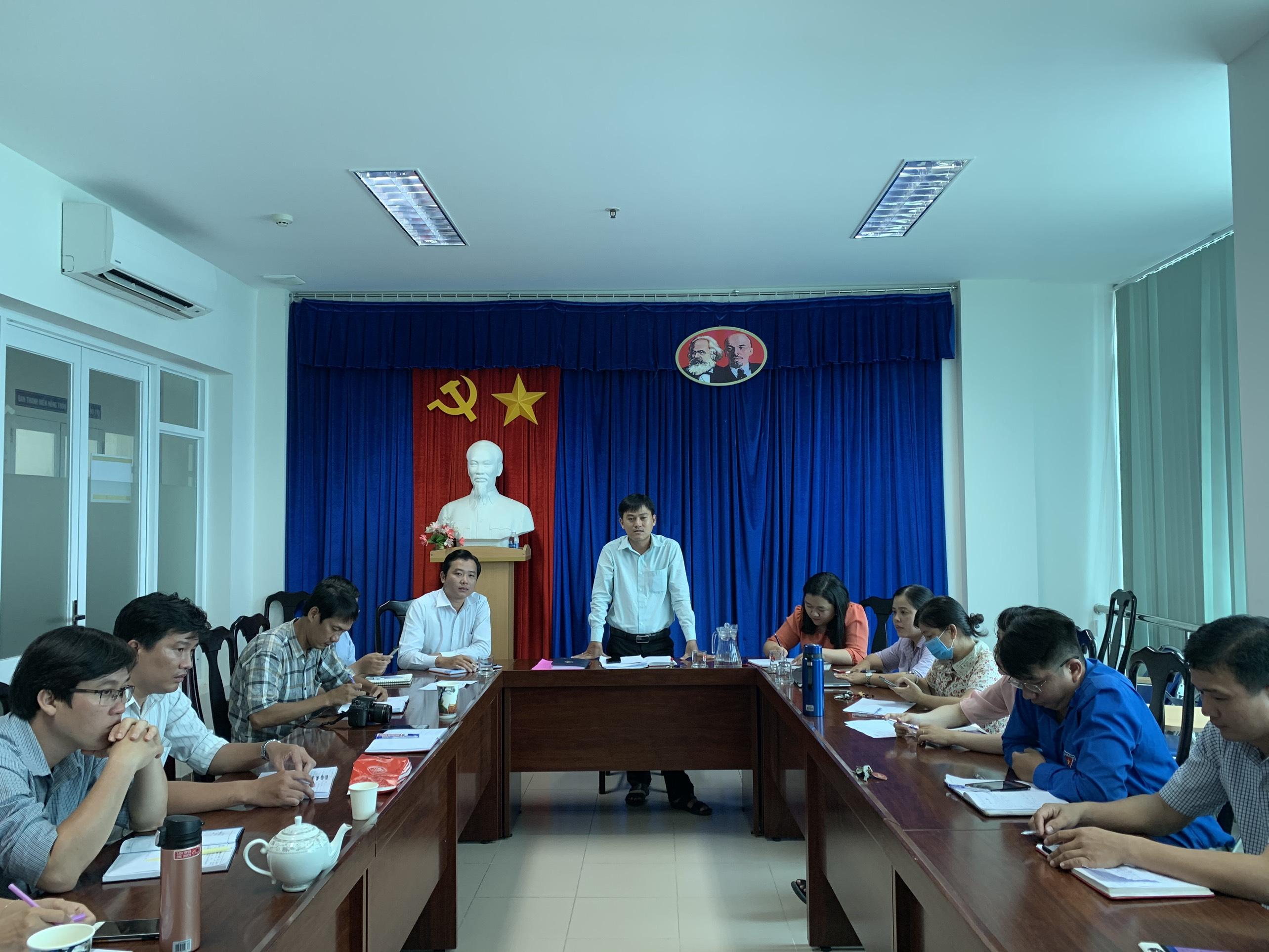 Chi bộ Tỉnh đoàn: triển khai Nghị quyết Đại hội đại biểu đảng bộ Khối Cơ quan – Doanh nghiệp tỉnh lần thứ XIII, nhiệm kỳ 2020 – 2025