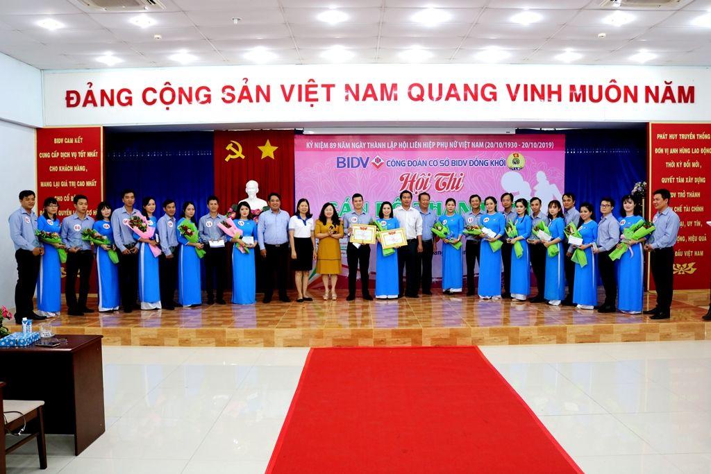 BIDV Đồng Khởi sôi nổi tổ chức các hoạt động chào mừng ngày Phụ nữ Việt Nam 20/10