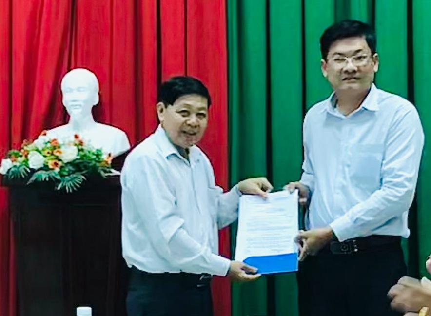 Công bố Quyết định chỉ định Bí thư Đảng ủy Đài Phát thanh và Truyền hình tỉnh