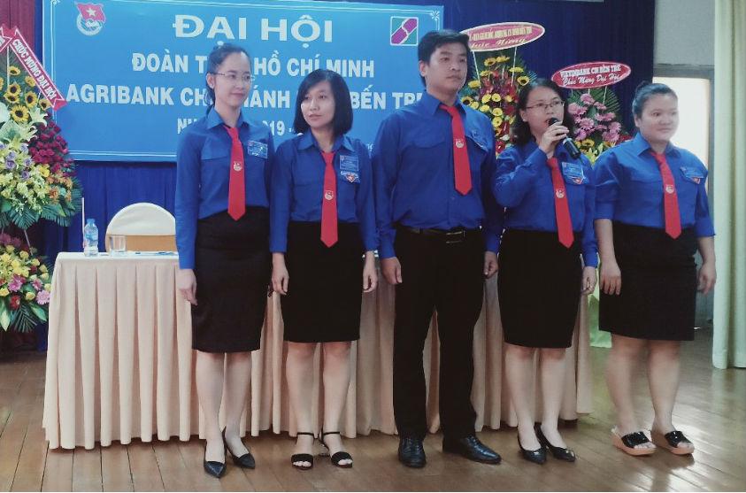 Chi đoàn Agribank Chí nhánh tỉnh Bến Tre tổ chức Đại hội nhiệm kỳ 2019-2022