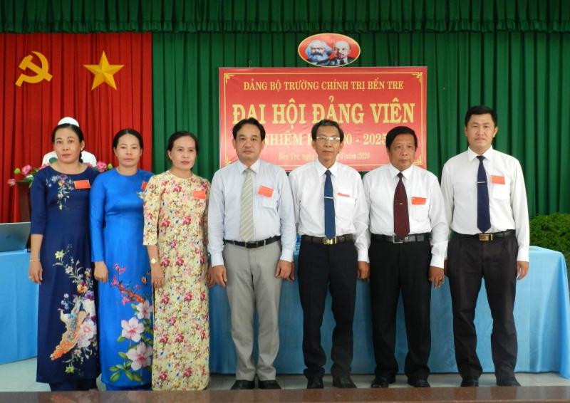 Xây dựng Đảng bộ Trường Chính trị Bến Tre trong sạch, vững mạnh, lãnh đạo hoàn thành xuất sắc nhiệm vụ đào tạo, bồi dưỡng đội ngũ cán bộ