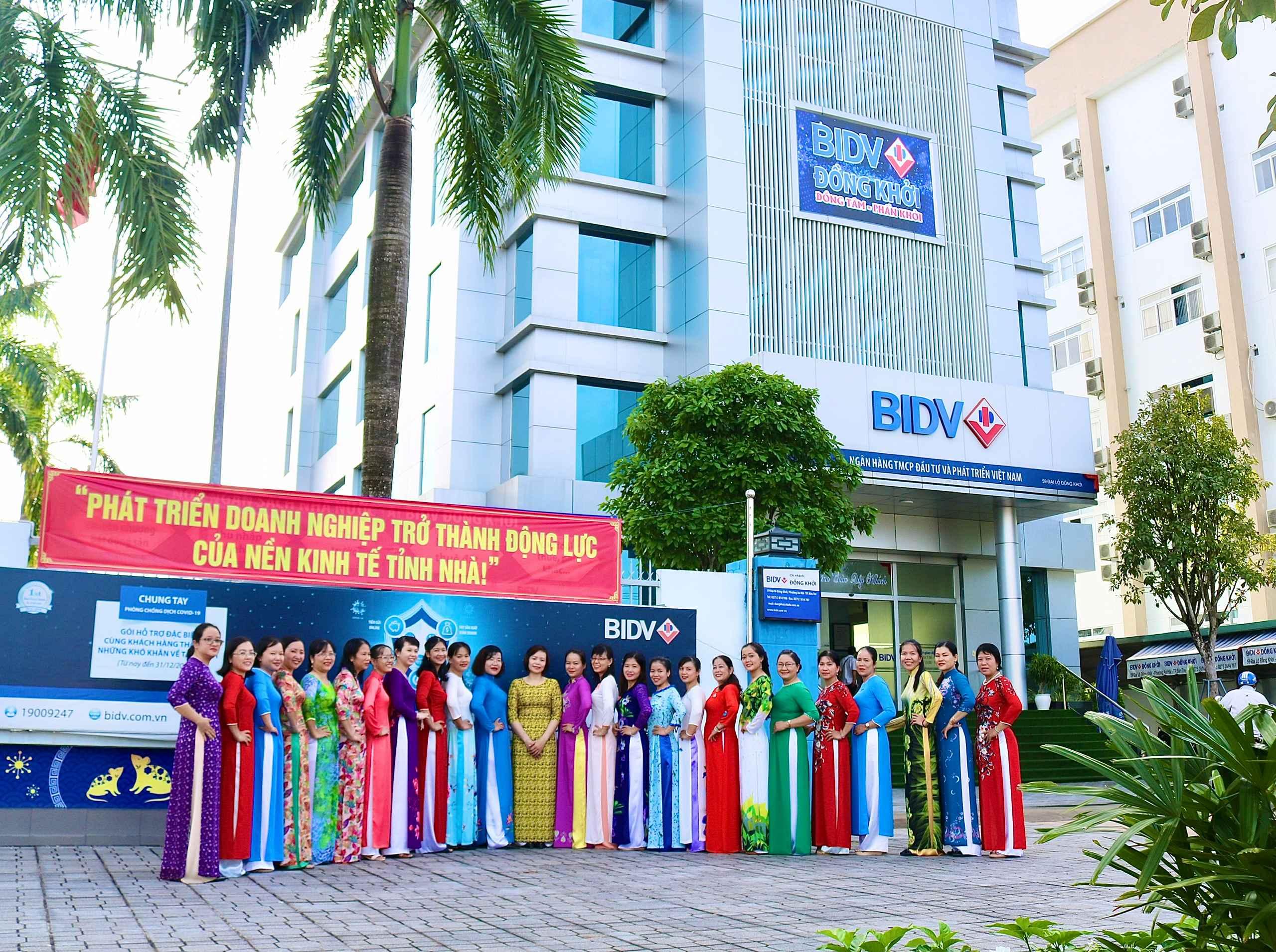 Điểm nhấn các hoạt động tháng 10 tại BIDV Đồng Khởi
